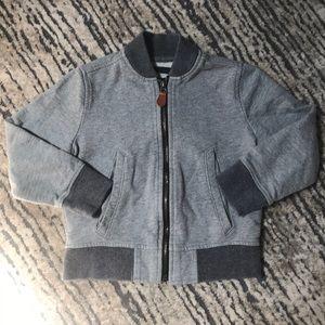 {GAP} Bomber Sweatshirt Jacket